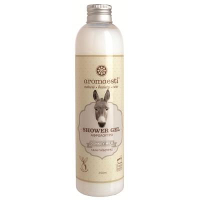 Aromaesti handgemaakte douchegel met ezelinnenmelk