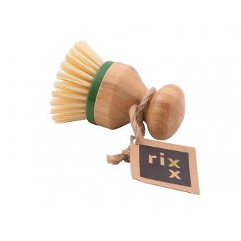 Afwasknop bamboe met vervangenbare kop