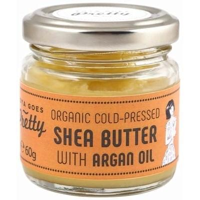 Shea & argan butter - cold-pressed & organic -