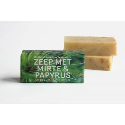 Zeep met Myrte & Papyrus