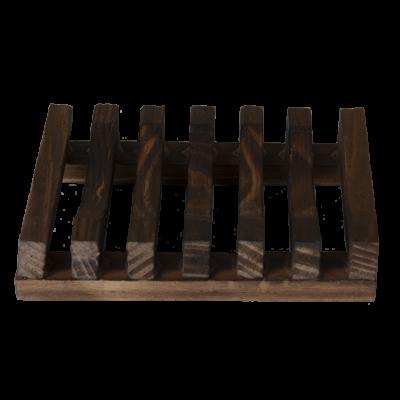 Zeephouder donker hout