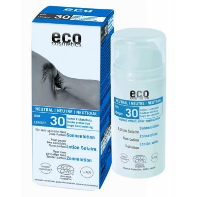 Bio zonnebrandcreme zonder parfum en alcohol SPF30